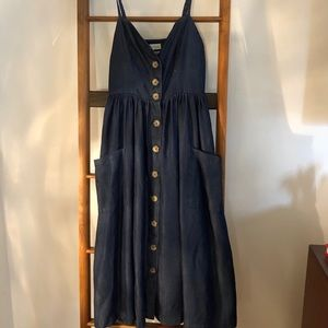 Urban Outfitters Long Button Dress